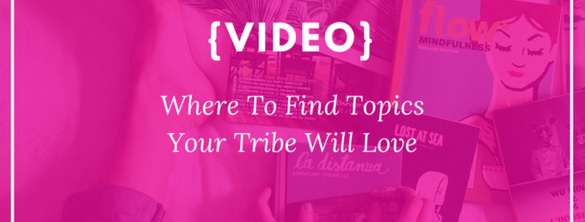 Topics Tribe with love